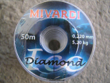 Mivardi Diamond 50m 0,22 mm.