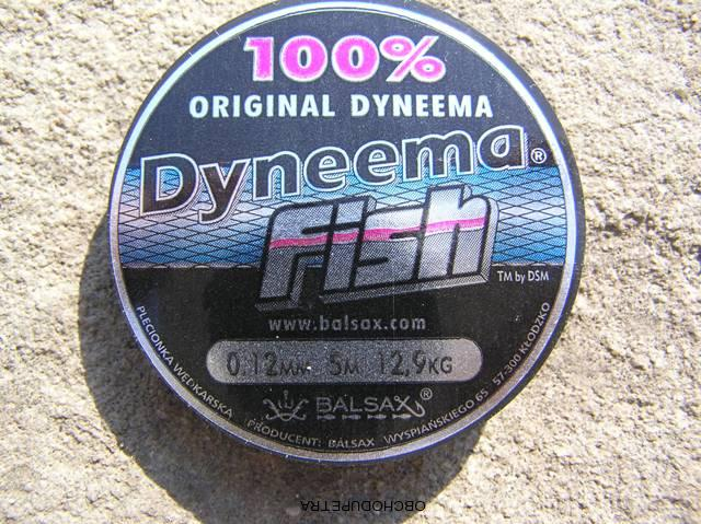 Balsax Dyneema Fish 0,12 mm 5m