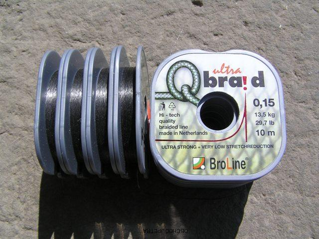 Broline Ultrabraid 0,15 mm 10 m