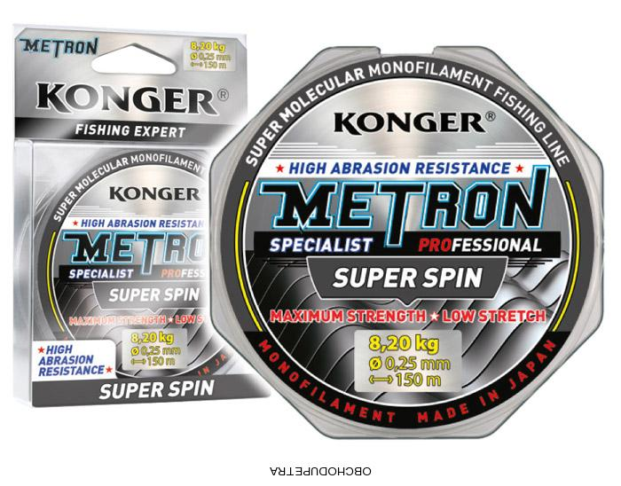 Konger Metron Super Spin 150m 0,25 mm