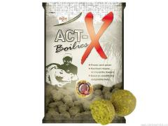 Carp Zoom Act-X Boilies - 800 g/16 mm/Jahoda