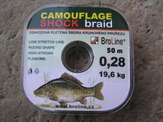 Broline Shock Braid 0,28 mm 50 m