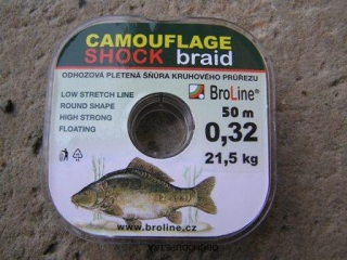 Broline Shock braid 0,32 mm 50 m