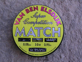 Balsax Match 0,08 mm 30m