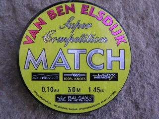 Balsax Match 0,12 mm 30m