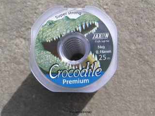 Jaxon Crocodile Premium 25m 0,14 mm