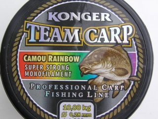 Konger Team Carp Camou Rainbo 0,28 mm-600 m