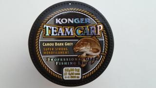 Konger Team Carp Camou Dark Grey 600 m-0,28 mm