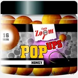 Carp Zoom Pop Ups 100g 16mm honey