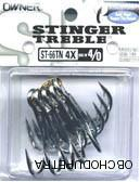 Owner Stinger Treble ST66 vel. 2/0 5 ks