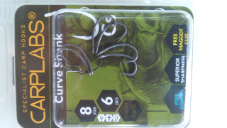 Carplabs Curve Shank vel.4 Barbless