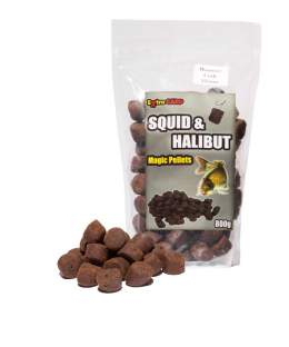 Extra Carp Squid & Halibut Pellets 22mm/800g Plum