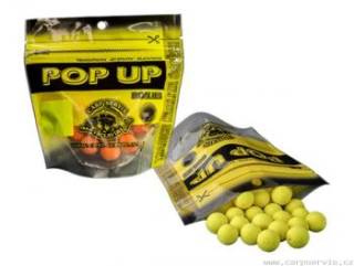 Carpservis Pop Up Boilies - 40 g/10 mm/Neutrál (oranžová)